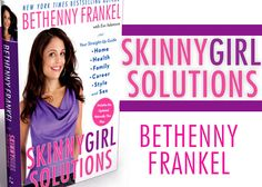 Bethenny's New Book Is Out Today! Check Out 'Skinnygirl Solutions'