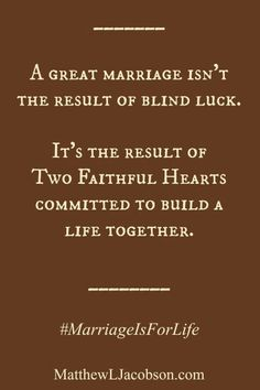Building a life together...