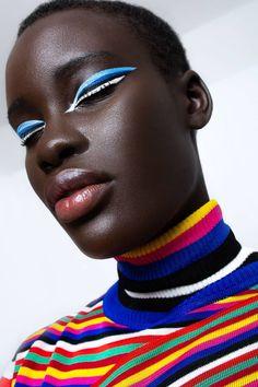 LINE SEGMENT - Issuu - LUCY'S Magazine, digital magazines, fashion editorials, spring fashion editorials, spring fashion - Vogue Editorial, Editorial Fashion, Black Pics, Beauty Makeup, Eye Makeup, Cooler Style, Black Girl Aesthetic, Beauty Shots, Photo Retouching