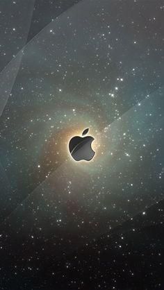 Apple bright stars iPhone 5 (5S) (5C) wallpaper - 640x1136