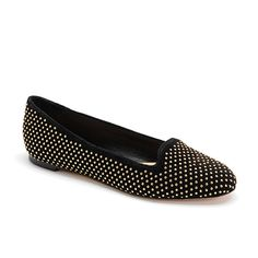 BLAISE FLAT MOCCASIN, Black suede with gold studs #flats #black Black Suede Shoes, Black Flats, Online Shopping, Autumn Winter Fashion, Winter Style, Trends, Gold Studs, Sock Shoes, Moccasins