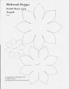 hellebore flower template click