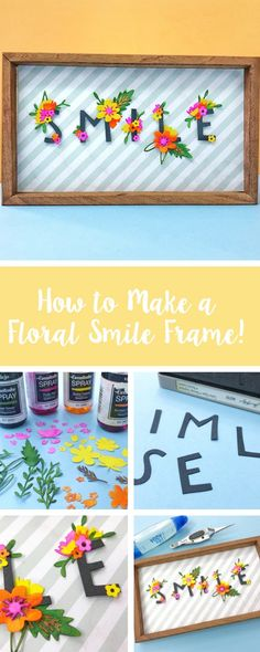 With Summer right around the corner, it's time to get your home decor in the mood with this handmade DIY frame. In this Sizzix tutorial, we'll show you how to create this papercraft floral frame for your empty wall spaces. Feature your make with us using #mymakingstory - #crafts #makersgonnamake #floralcrafts #papercrafts #paperflowers #homedecor #homedecoration #DIYdecor #handmade #handmadecrafts #crafting