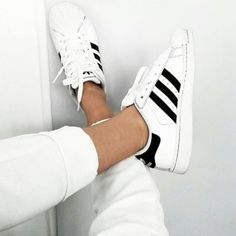 Adidas Originals Superstar Pride Pack Where can I buy these shoes that ship to the UK? Style Blog, Mode Style, Adidas Superstar, Adidas Originals, Outfit Trends, Summer Trends, Types Of Shoes, Shoe Game, Summer Shoes