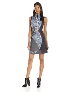Clover Canyon Sportswear Womens Kaleidoscope Paisley Sleeveless Dress Multi Medium *** Be sure to check out this awesome product.