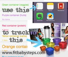 21 Day Fix App for tracking food