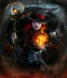 Magick Wicca Witch Witchcraft: Making Magick. by Howard Lee Baba Yaga, Gandalf, Dark Fantasy, Fantasy Art, Fantasy Witch, King Solomon Seals, Solomons Seal, Witch Art, Wiccan
