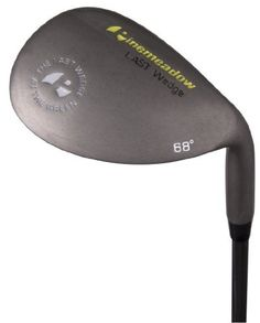 Pinemeadow Wedge (Right-Handed, 68-Degrees ) by Pinemeadow Golf. $17.70. Amazon.com                Pinemeadows' most popular wedge has been updated with a new look, while maintaining the club shape and features that have made the club such a popular, affordable option. The expanded face area creates an oversized sweet spot, and you can get under the ball while still having enough club to generate proper control and ball flight, making it easy to play out of difficult lies...