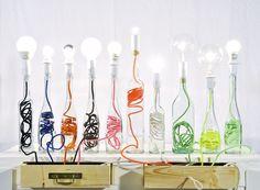 Lamp Bouteille van Fleux