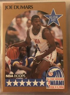 1990 NBA Hoops All Star East Joe Dumars 3 Pistons Near Mint Combined s H | eBay