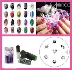 Bundle 3 Items : Konad Nail Art Mini Set Polish, Stamper, ,Scraper , Image Plate S10 Animal Faces *** Read more reviews of the product by visiting the link on the image.