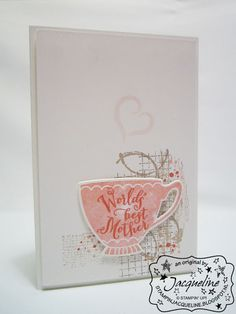 Stampin' Up! by Stampin Jacqueline: A Nice Cuppa van Stampin' Up! deel 1