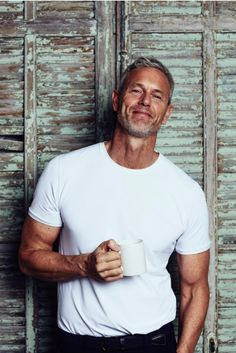 Exclusive: Former Olympic swimmer Mark Foster comes out as gay - winq. Bbc Presenters, Mark Foster, Olympic Swimmers, Silver Foxes, Man Crush, Coming Out, The Fosters, Olympics, Gay