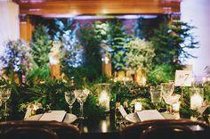 greenery reception