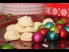 Kokosmakronen / Kokosbusserl - gelingsicher und feucht! Mit Überraschung :) - YouTube