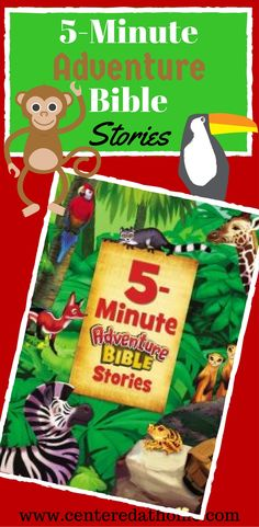 5-Minute Adventure Bible Stories – Review via @Centered at Home