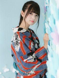 SAITO_asuka 齋藤飛鳥 浴衣