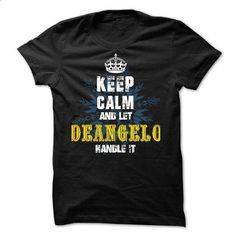 02012403 Keep Calm and Let DEANGELO Handle It - #sweatshirt you can actually buy #wrap sweater. SIMILAR ITEMS => https://www.sunfrog.com/Names/02012403-Keep-Calm-and-Let-DEANGELO-Handle-It.html?68278