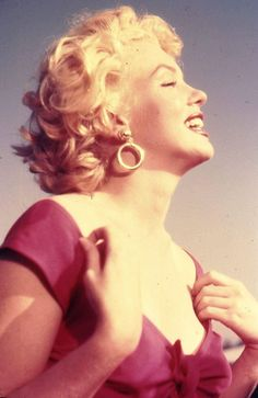 Marilyn at the Ray Anthony party, 1952.