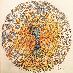 Secret Garden #Salainenpuutarha #JohannaBasford #Kirja