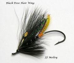 Black Dose Hair Wing
