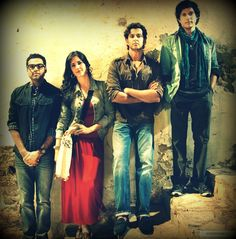 The gang. Zindagi na milegi dobara love then alll
