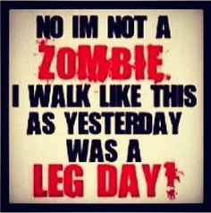 Yep!!! Leg day is my fave!