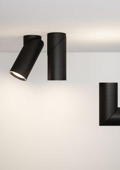 LED semi-inset aluminium spotlight BOB INCASSO Bob Collection By Letroh design Marco Spada, Alessandra Gipponi