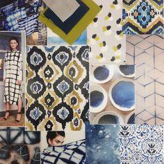Moodboard for our Akari Collection #warwickfabrics #moodboard