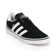 Upgrade your skate style and cop the fresh new look and premium construction of the Adidas AdiEase Premier skate shoes. A tough adiTUFF underlay underneath the stylish abrasion-resistant white suede upper gives these low-profile classics excellent durabil