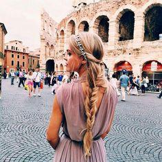 Pretty girl in roma