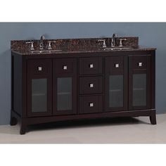 Shop Golden Elite  TSCY62DB 62-in Tuscany Vanity at Lowe's Canada. Find our selection of bathroom vanities at the lowest price guaranteed with price match + 10% off.