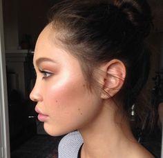 Eden Bristowe. Makeup by Ania Milczarczyk