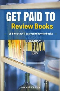These 18 sites will actually pay you to review books (and you get free titles!)
