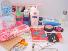 The Emergency Kit is every girls best friend from tampons, breath mints, lotion etc