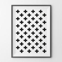 Poster ou Tela MDF - Crosses