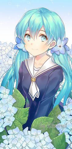 Pictures Of The Day Anime Kawaii Manga Girl, Manga Anime, Anime Girls, Vocaloid, Beautiful Anime Girl, I Love Anime, Kawaii Girl, Kawaii Anime, Kaai Yuki