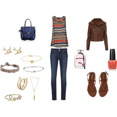 Tribal, created by kdlove on Polyvore