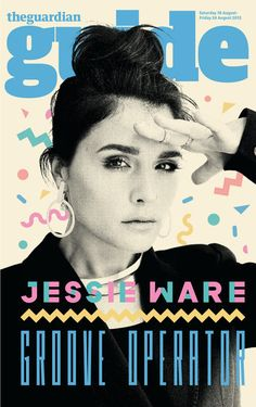 Jessie Ware | 80's confetti, didn't know i could like it again. WRONG! Love the color vs B photo combo