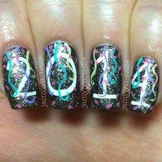 2014 nail art - http://yournailart.com/2014-nail-art/ - #nails #nail_art #nail_design #nail_polish