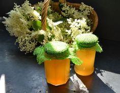Holunderblütengelee mit Cidre