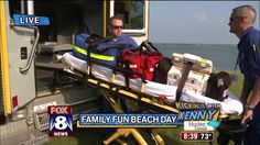 A day at the beach supports two worthy causes
