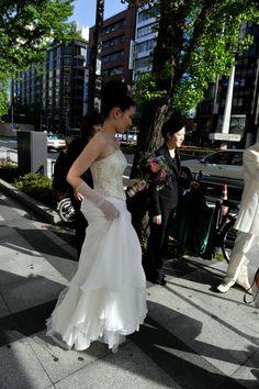 ウェディングドレス カノビアーノ東京での結婚式3 Ms.Mai.N.married on 2010.4.29