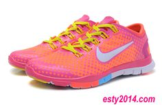 Nike Free Tr Fit Mango PeaTr$44.5 Running Shoes Summer 2014