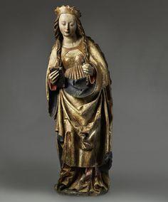 St. Catherine of Alexandria  c. 1490s  Germany, Swabia