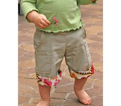Orchard Pockets Khaki with Tulips by ProjectPomona on Etsy, 26.95