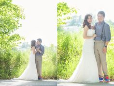 Wedding and Portrait photographer based out of Port Saint Lucie, FL. Columbia City Indiana, Portrait Photographers, Portraits, Port Saint Lucie, Groom, Backyard, Bride, Wedding Dresses, Photography