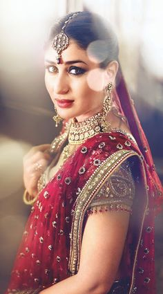 Bollywood, Tollywood & Más: Kareena Gitanjali Parineeta Bridal Tarun…