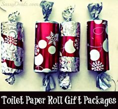 Toilet+Paper+Roll+Christmas+Crafts | DIY Christmas Toilet Paper Roll Craft Ideas For Kids