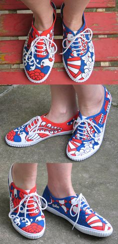Painting Shoes With Acrylic Paint | Paint Shoes
